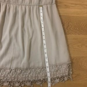 American Eagle Outfitters Dresses - Beige American Eagle Dress with Lace design